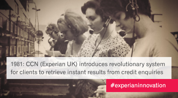 Social content marketing campaign Innovation in Experian.