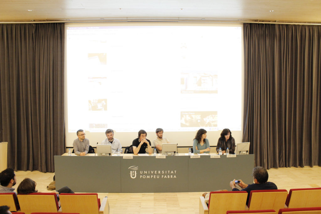 BCNMedialab event at University Pompeu Fabra.
