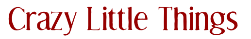 Crazy Little Things Logo